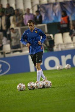 Ivan Helguera with a ball