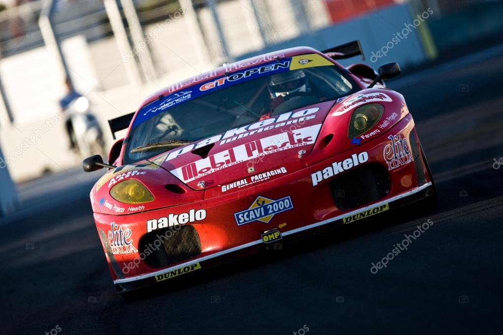 Lorenzo Case (IT) Michele Rugolo (FR) on Ferrari 430 GT2  GTA