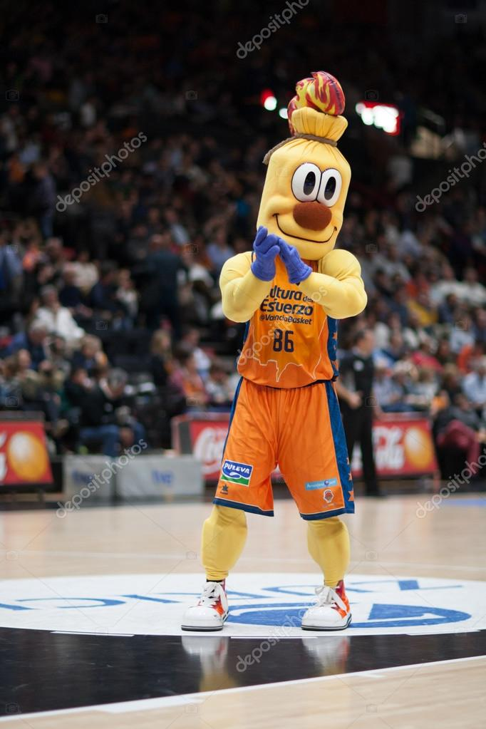 Valencia Team Mascot Stock Editorial Photo C Efecreata Com