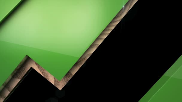 Zelené dřevěné schránky