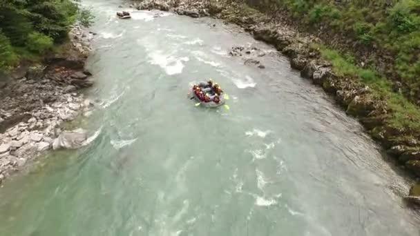 River Rafting  wild water in Austria