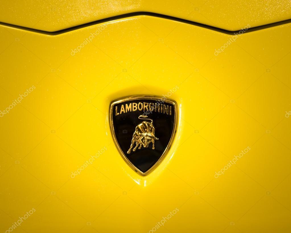 Vector Lamborghini Logotipo El Logo De Lamborghini Muestra A Un
