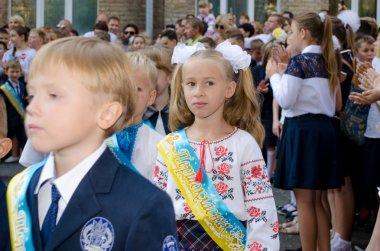 September 1 in Ukrainian school.