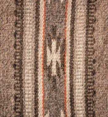 Warm woolen cloth