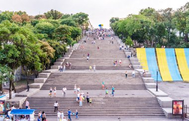 Potemkin stairs. The Symbol Of Odessa