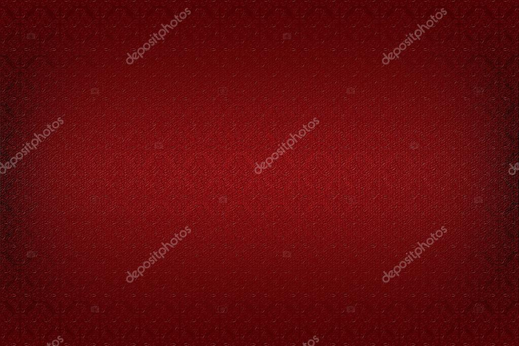 Victorian wallpaper background with floral texture, red — Stock Photo