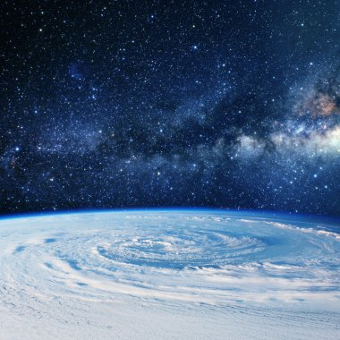 Planet earth clouds. Some elements of this image furnished by NA