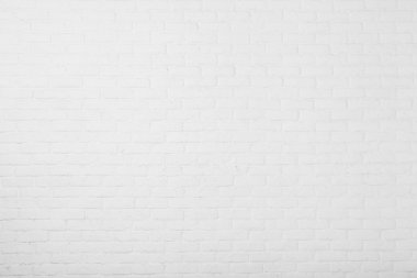 Aged paint white brick wall background