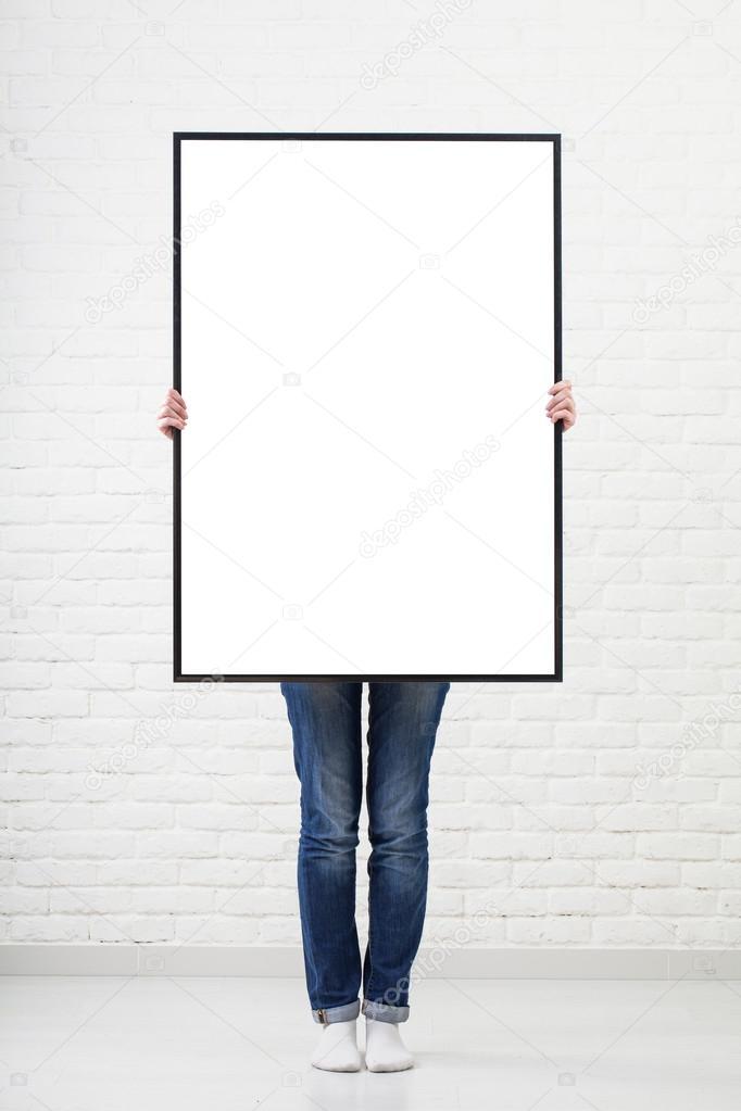 Картинка пустой плакат