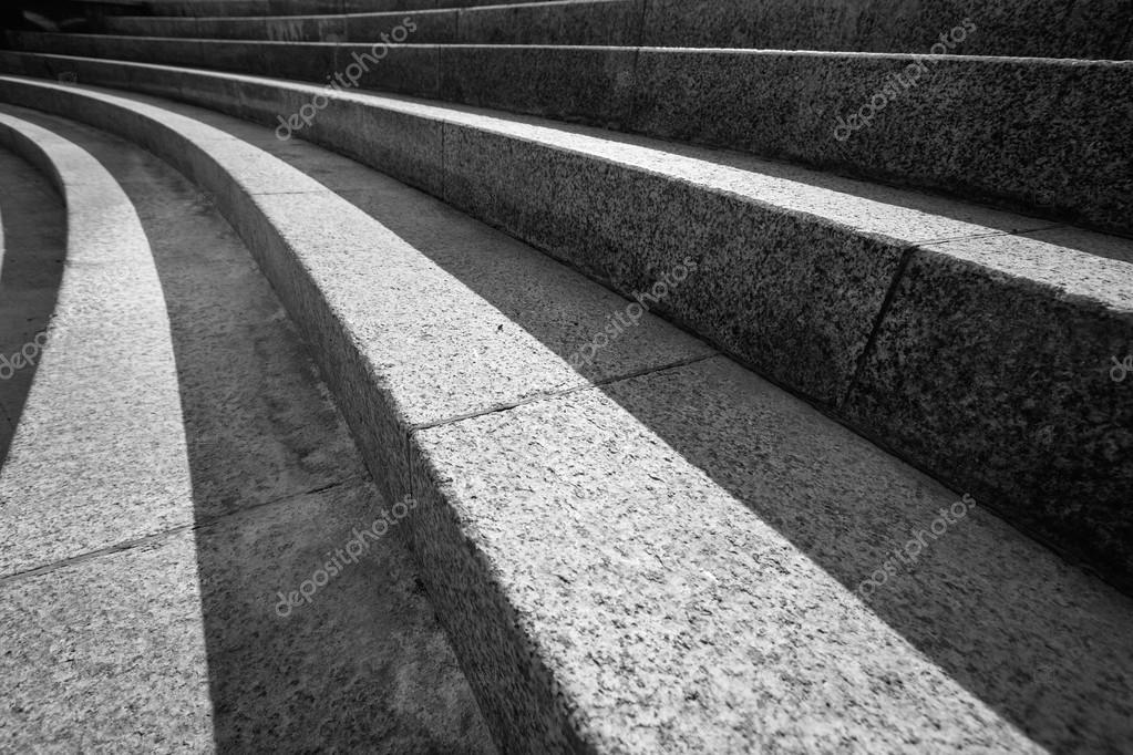 Architectonische ontwerp van trap gemaakt van beton u2014 stockfoto