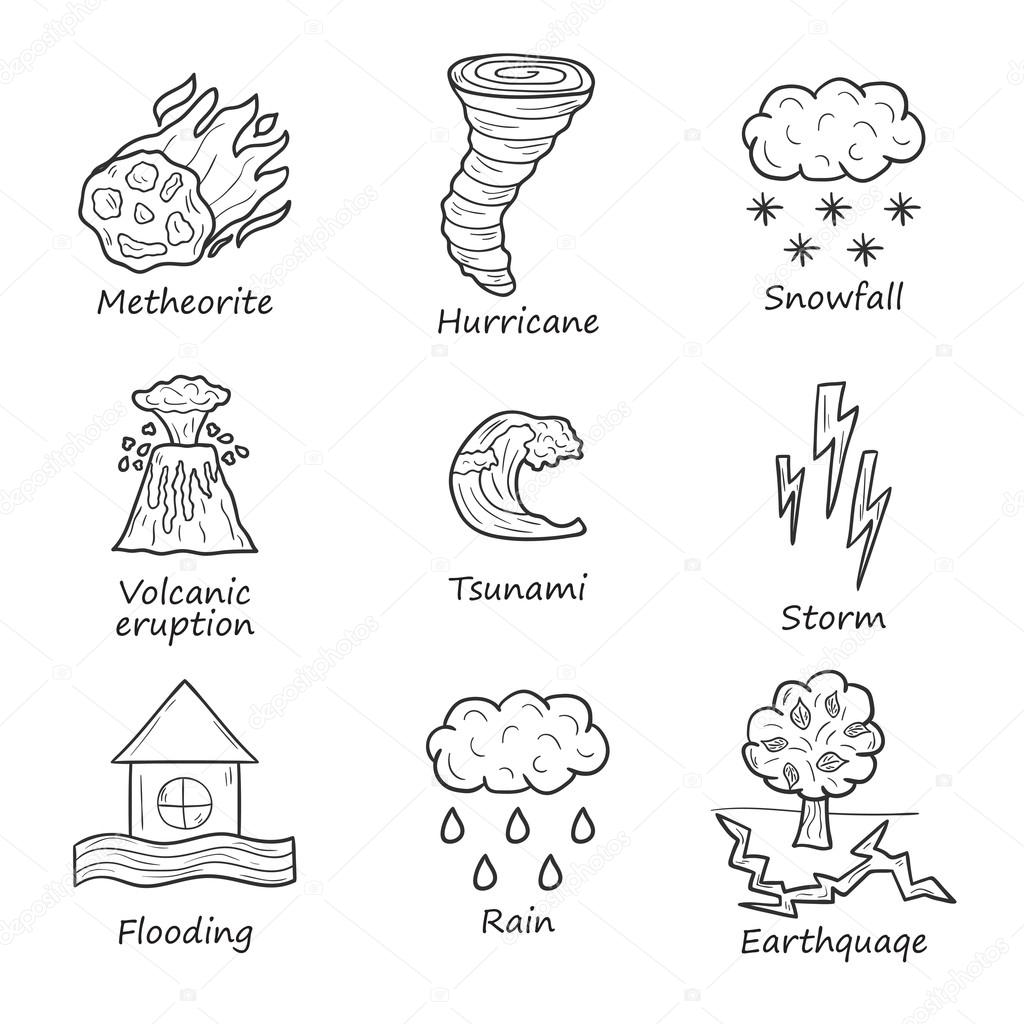 Natural disaster objects