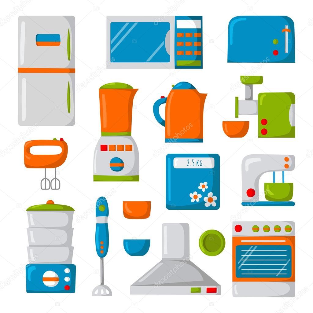 Dibujos animados electrodom sticos archivo im genes - Electrodomesticos de la cocina ...