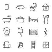 Domů předělávání ikony