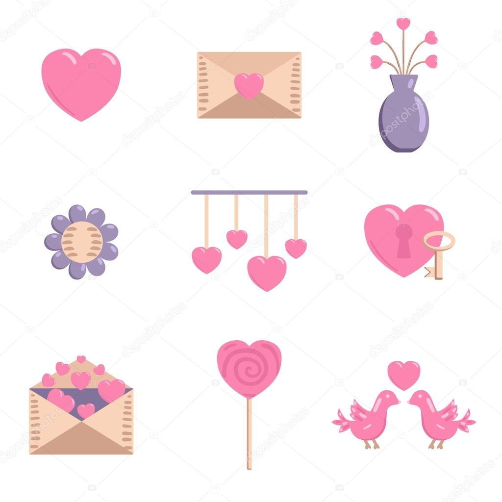 Happy Valentines Day Icon Stock Vector C Petitelili 94902044