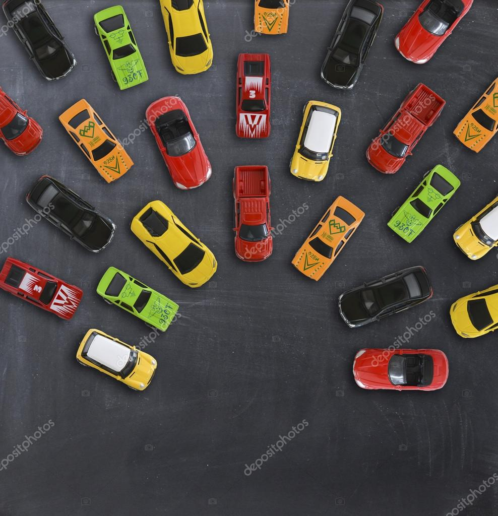 Top View On Colorful Toy Cars Stock Photo C Ai825 124468460