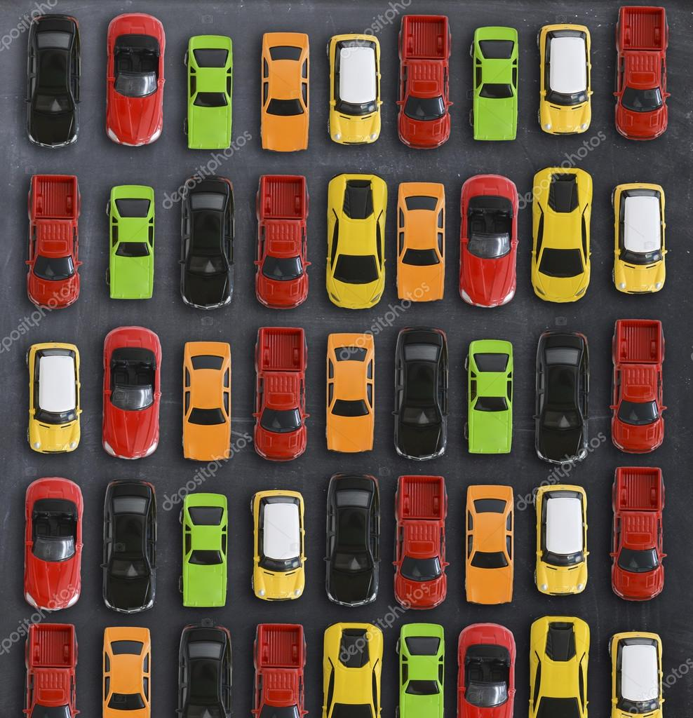 Top View On Colorful Toy Cars Stock Photo C Ai825 124468840