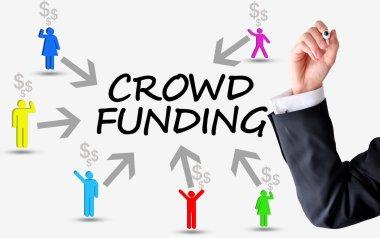 Crowd funding platform concept