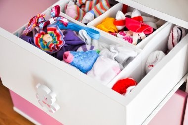 Baby girl drawer