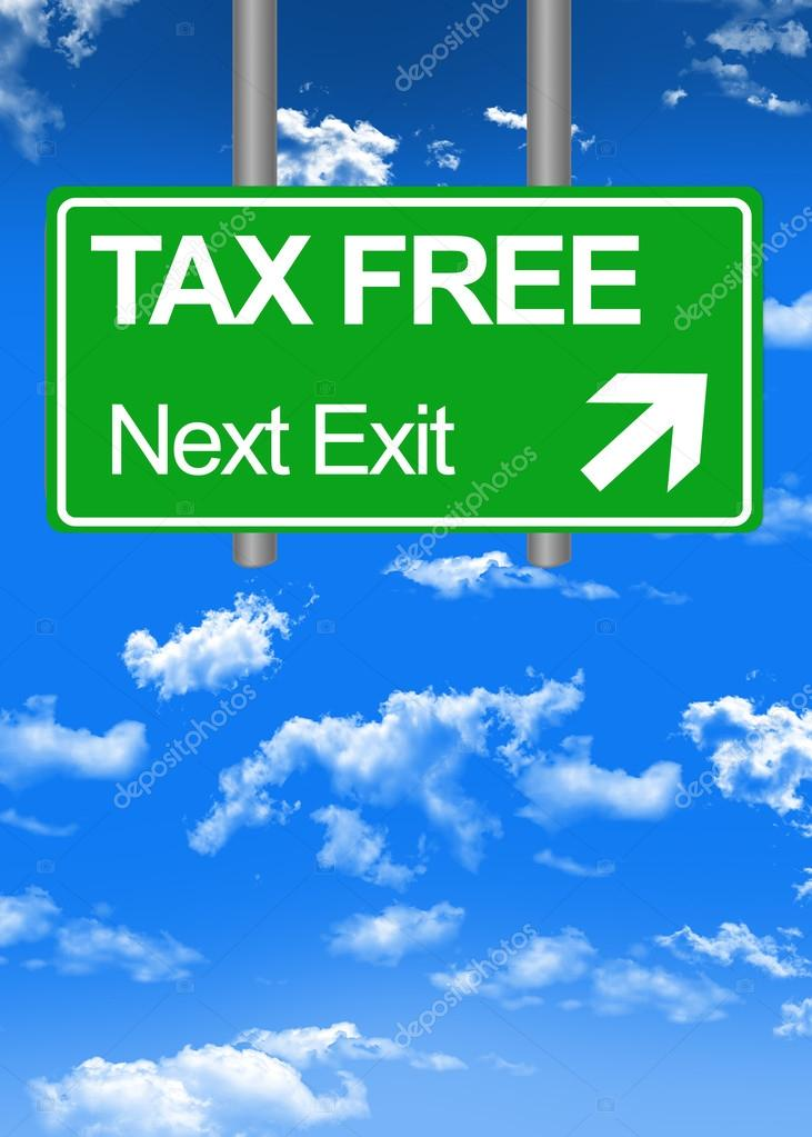 Tax free concept