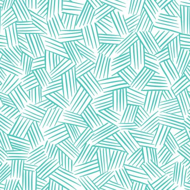Vector seamless pattern with hand drawn lines. Traditional hatching.