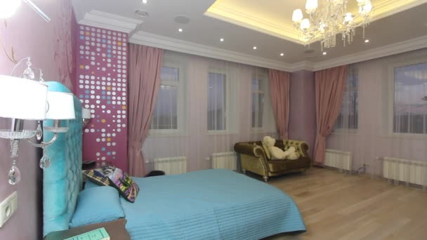 Luxusní byt interiér dětského pokoje.