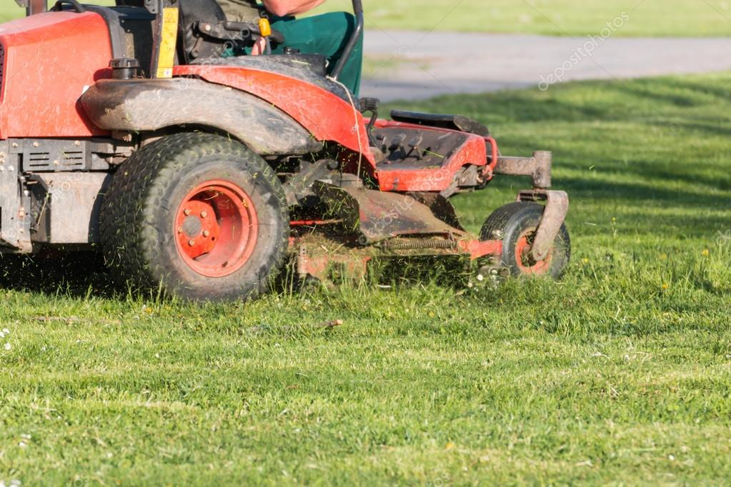 Riding Lawn Equipment with operator