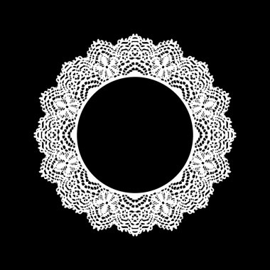 lace ornament decoration element