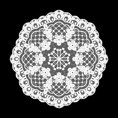 Lace, Snowflake Decorative Pattern