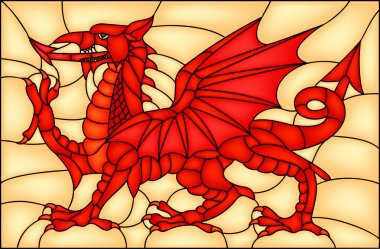 Welsh Dragon symbol