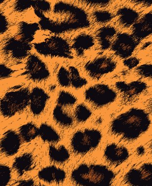 Leopard, cheetah skin seamless pattern