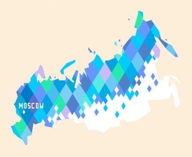 geometric russian map
