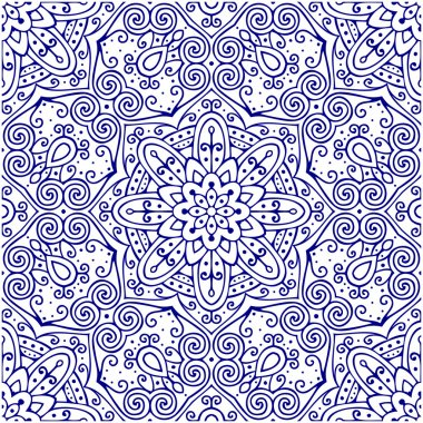 Oriental traditional seamless ornament