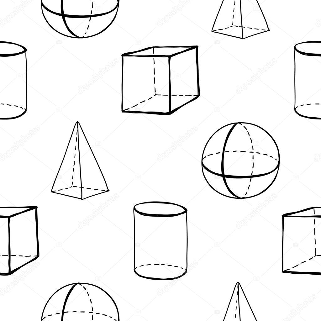 Patrón De Figuras Geométricas Archivo Imágenes Vectoriales