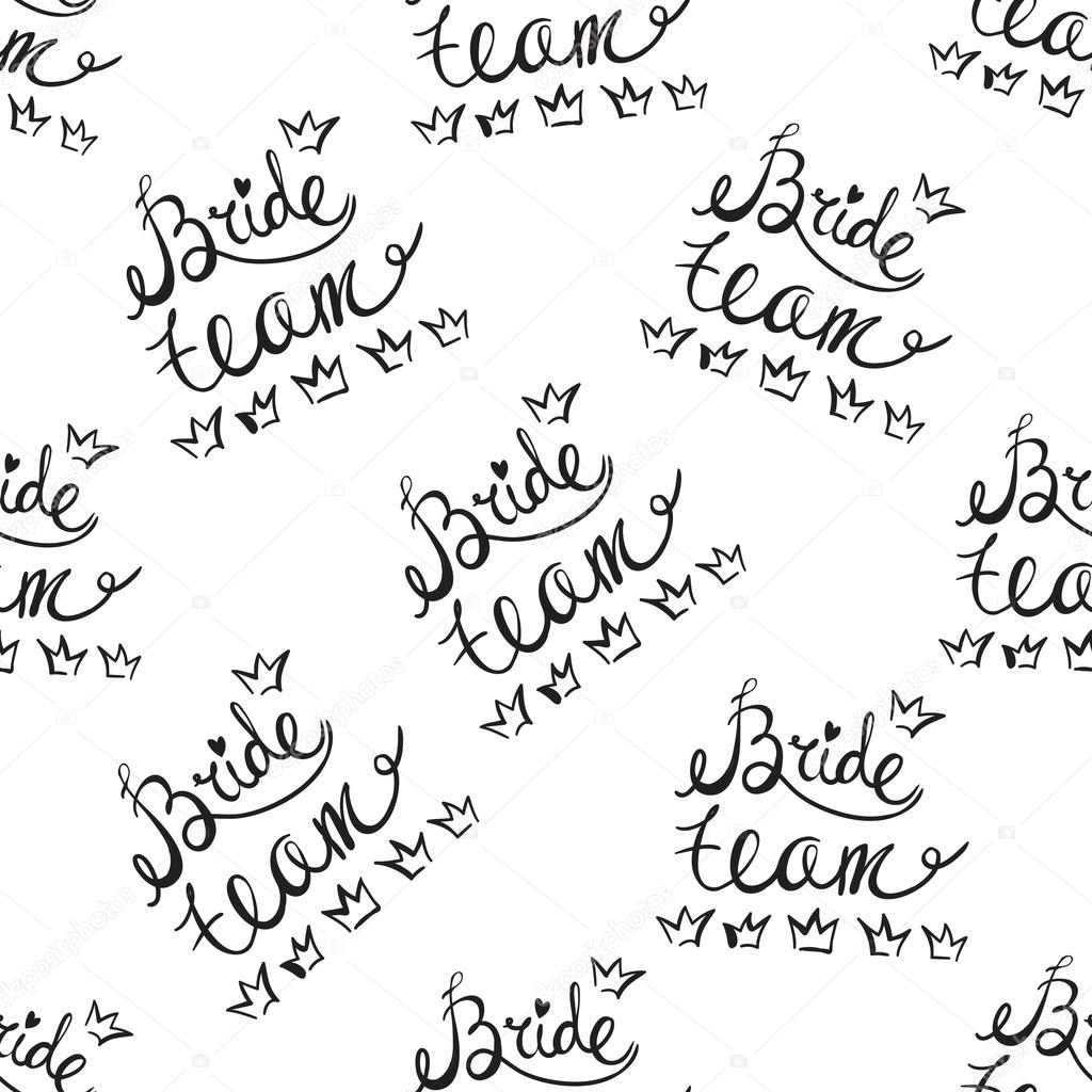 wedding background with bride sign