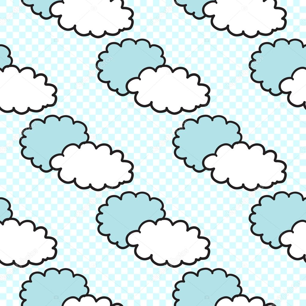 cloud abstract pattern