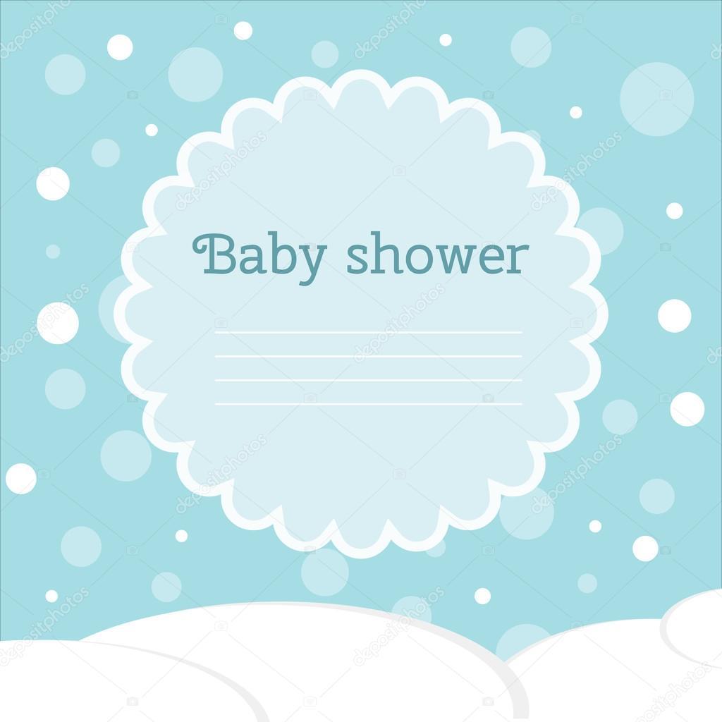 Baby Shower Karte Text.Baby Dusche Karte Winter Baby Karte Anreise Karte Mit
