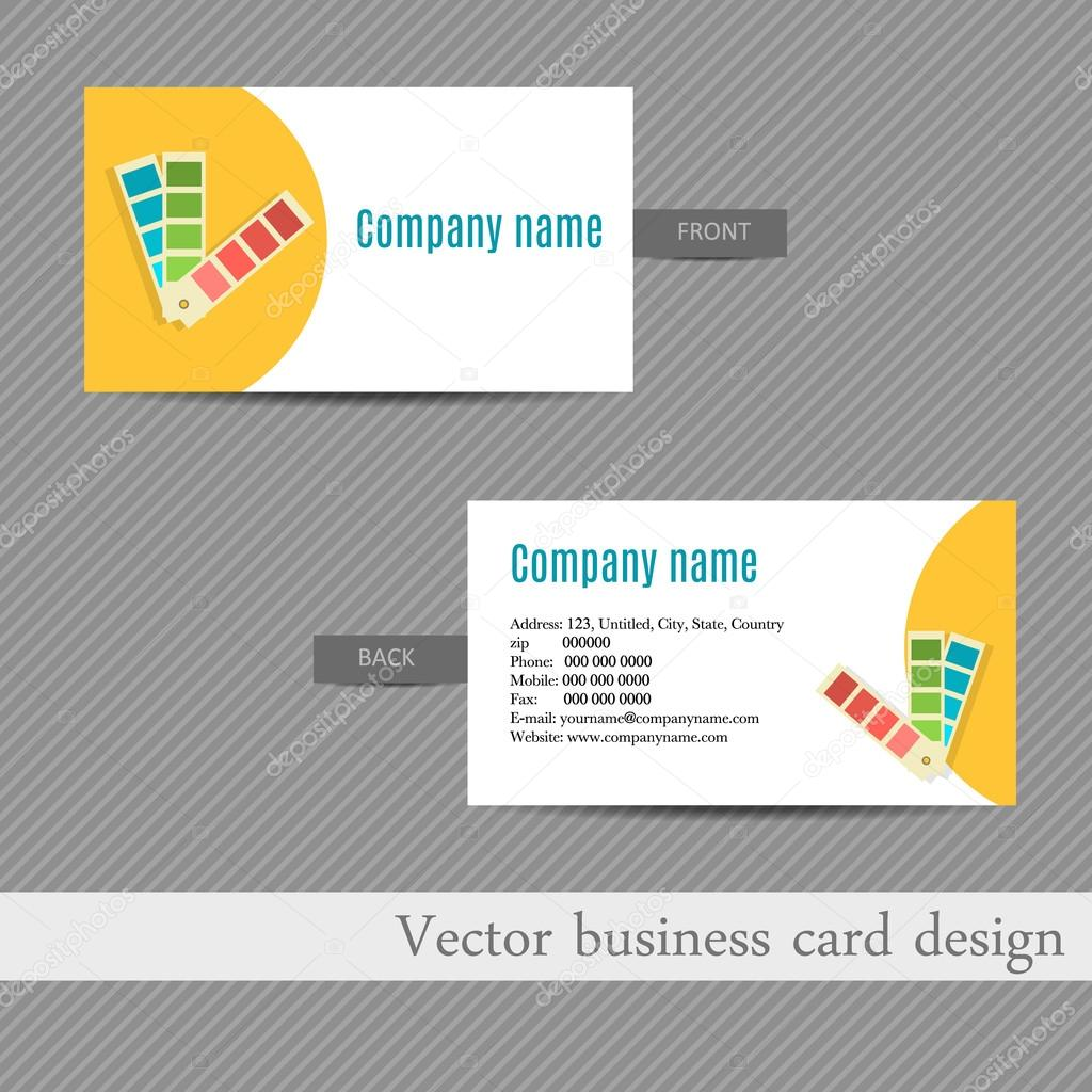 Business card design for an advertising agency stock vector business card design for an advertising agency stock vector colourmoves