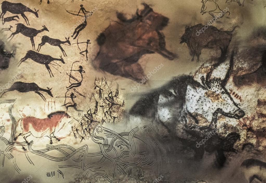 фото древние наскальные рисунки