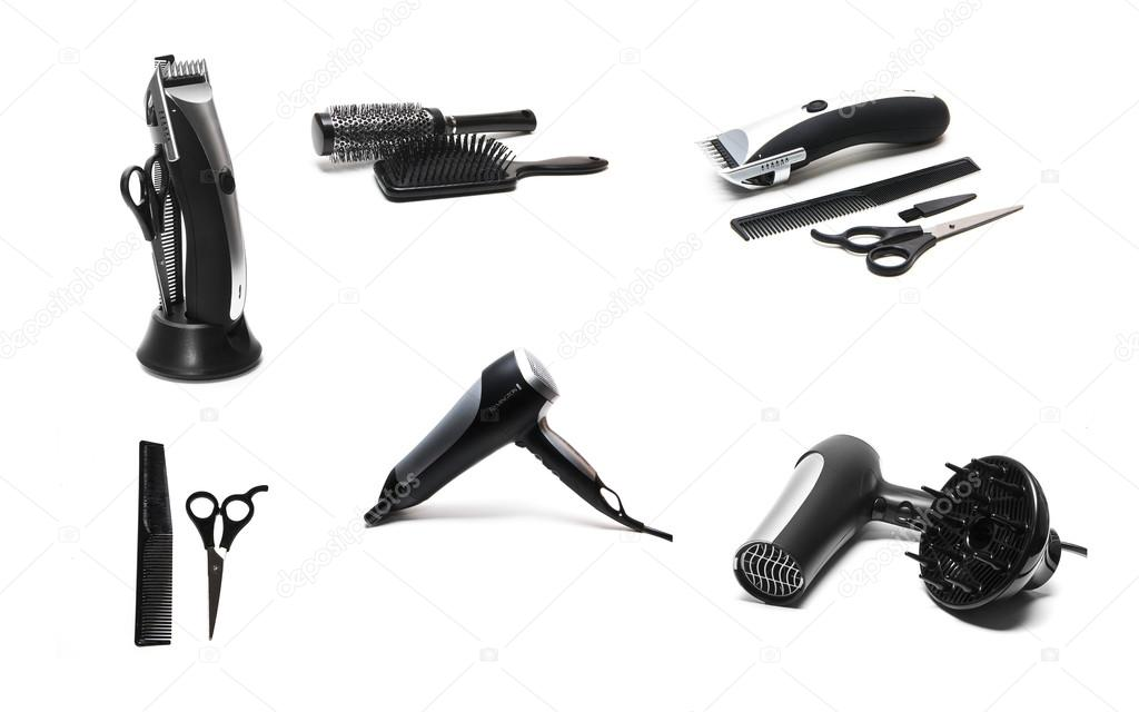 Машинка для стрижки волос расческа
