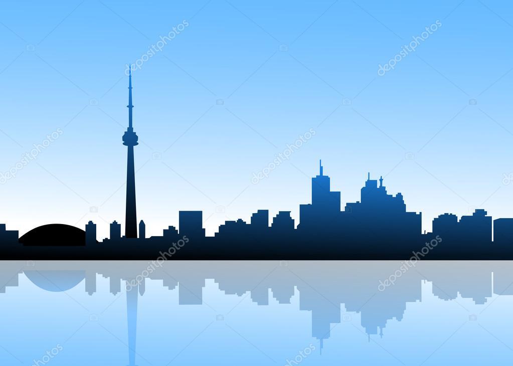 Toronto at Morning-Vector