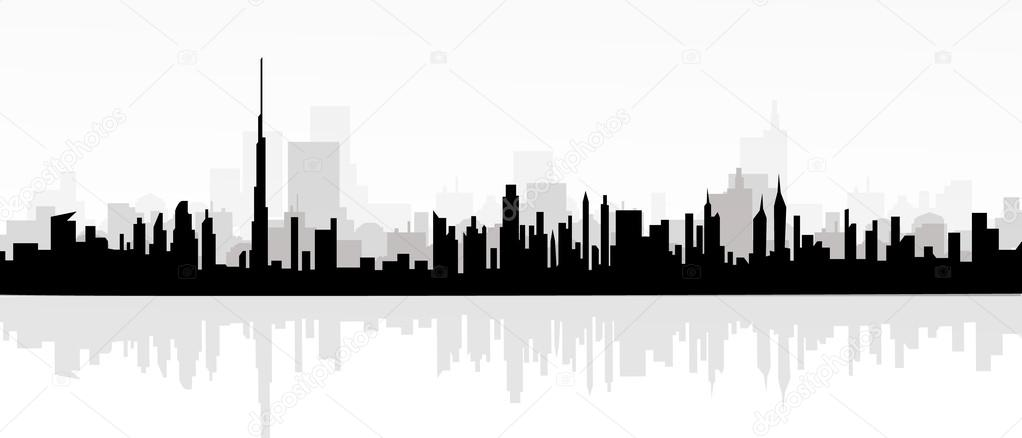 morning cityscape vector stock vector samillustration 53573345 rh depositphotos com cityscape vector png cityscape vector art