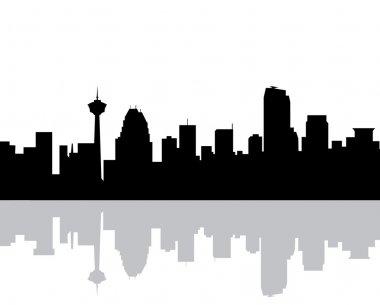 Calgary Morning Skyline