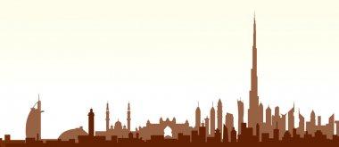 Dubai Skyline - Vector