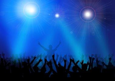 Rock Concert-Vector