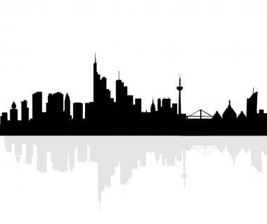 Frankfurt Skyline-Vector