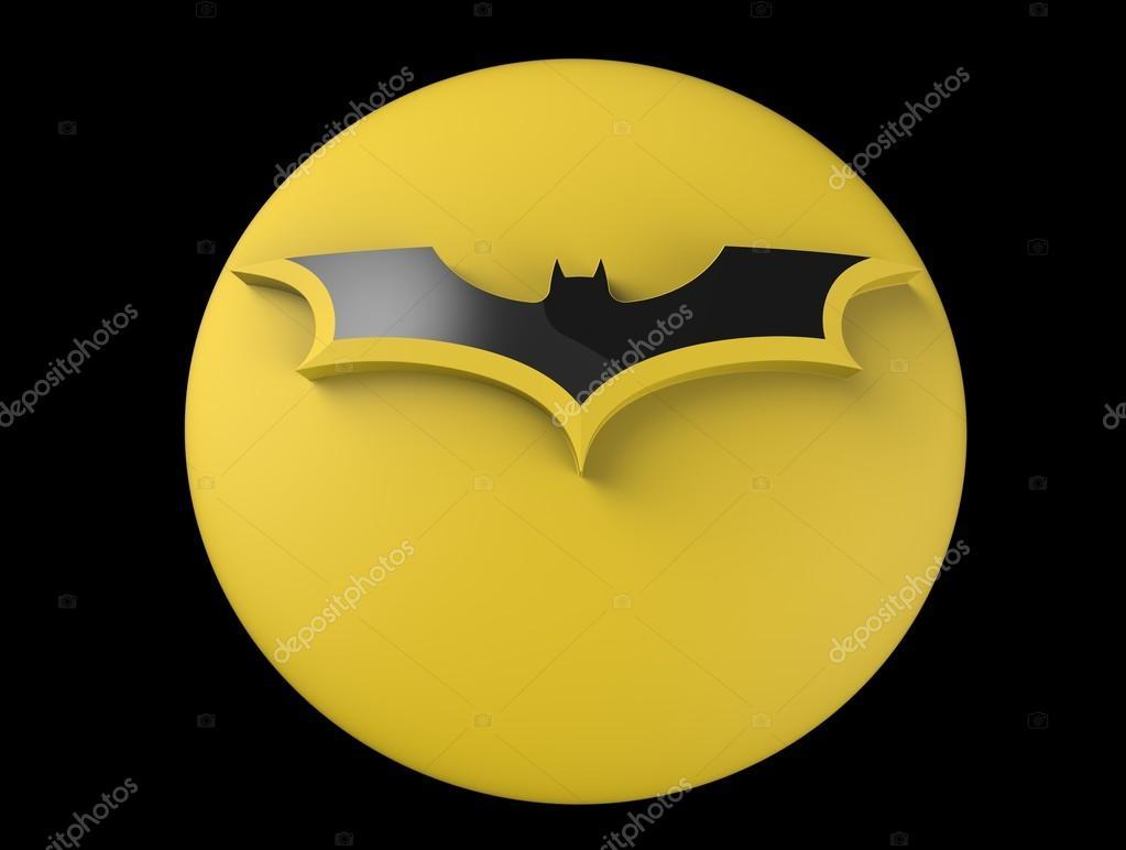 Images Batman Symbol Emoji 3d Batman Logo Stock Photo