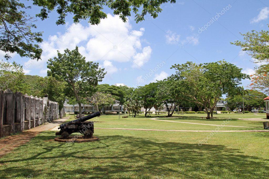 Plaza de Espana in Guam, Micronesia