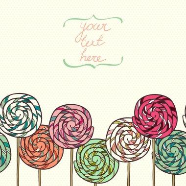 Doodle lollipops.