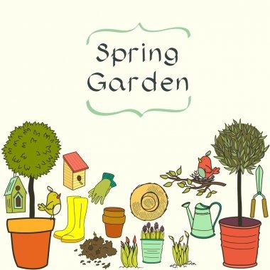 Garden doodles.
