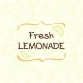 Limonáda vzor